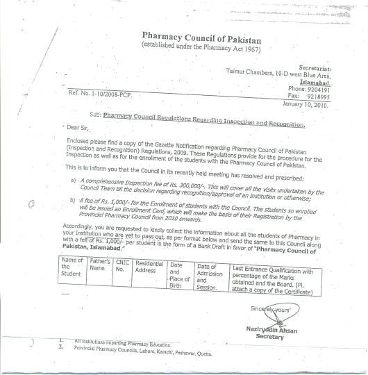 PCP Notification